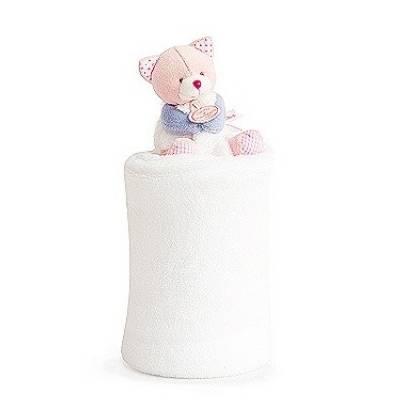 Doudou et compagnie - Lovely Plaid Fraise Chat