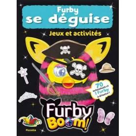 Livre d'activités - Furby se déguise