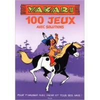 Livre d'activités - Yakari - 100 Jeux avec Solutions