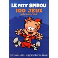 Livre d'activités - Le Petit Spirou - 100 Jeux avec Solutions