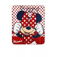 "Minnie Mouse - Plaid polaire ""Do You see me"""
