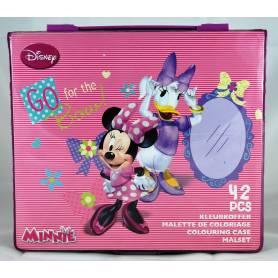 Minnie Mouse - Malette de coloriage 42 pièces