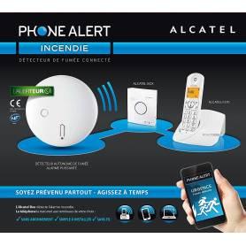 Alcatel - Phone Alert Kit d'alarme incendie connectée
