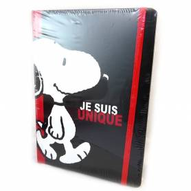 Snoopy|Carnet noir - A5 - 96 pages