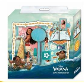 Vaiana Disney - Super Coffret Journal intime