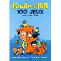 Livre d'activités - Boule & Bill - 100 Jeux avec Solutions