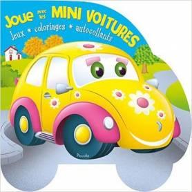 Activity book - Play with the Mini Car - Ladybug
