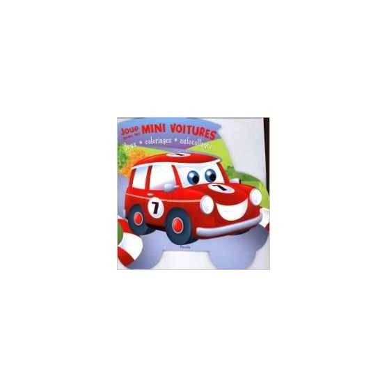 Livre d'activités - Joue avec les Mini Voitures - Mini
