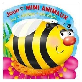 Libro delle attività - Gioca con i mini animali - Bumblebee