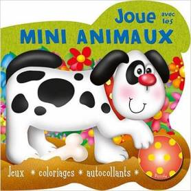 Activity book - Play with Mini Animals - Dog