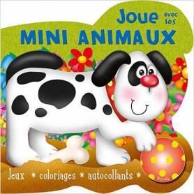 Livre d'activités - Joue avec les Mini Animaux - Chien