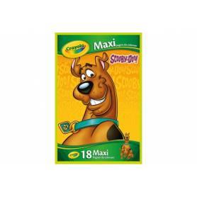 Scooby-Doo - 18 Maxi Coloriage - 32 x 49 cm