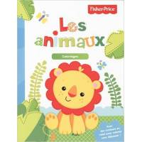 Fisher-Price - Coloriages - Les animaux