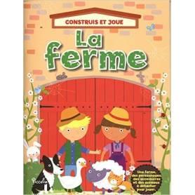 Libro delle attività - La fattoria - Costruisci e gioca