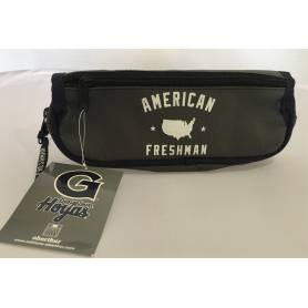 American Freshman - Gray and Blue Flap Case - 1 Compartment