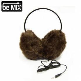 Casque Audio Cache Oreille imitation fourrure jack