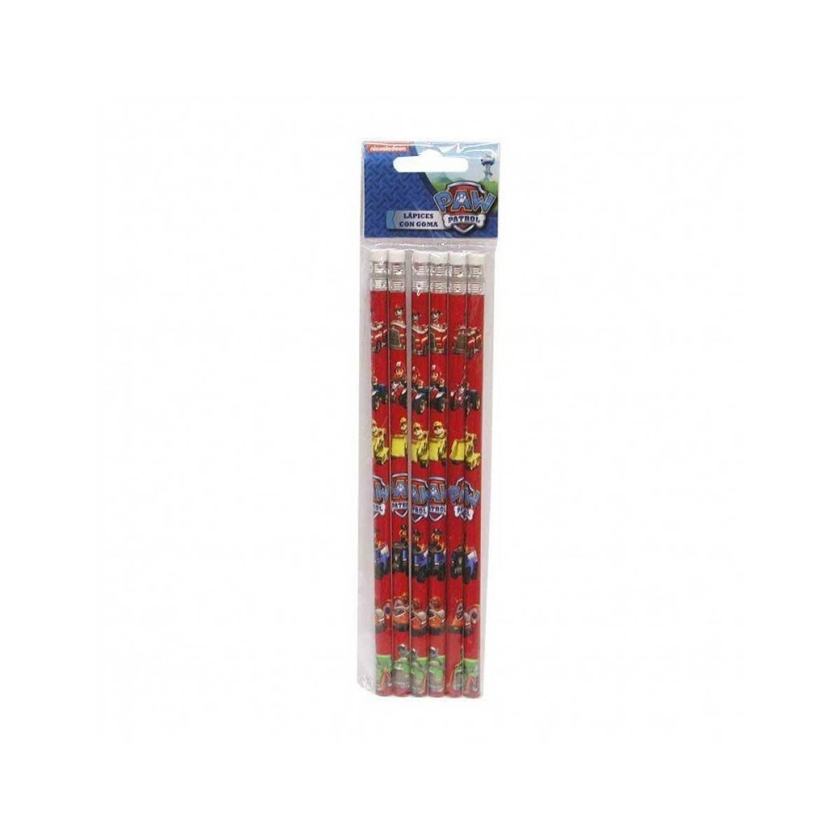 La Pat'Patrouille - 12 Crayons à Papier