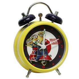 Les Minions - Réveil avec Alarme 12 cm
