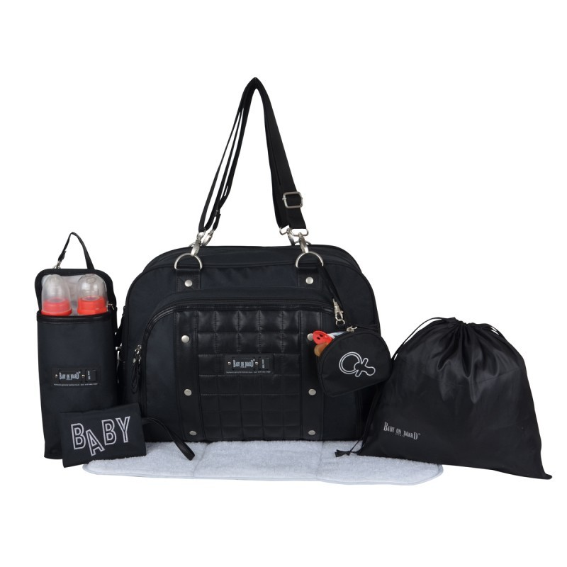 Baby On Board - Sac à Langer Around the Clock Premium - Noir