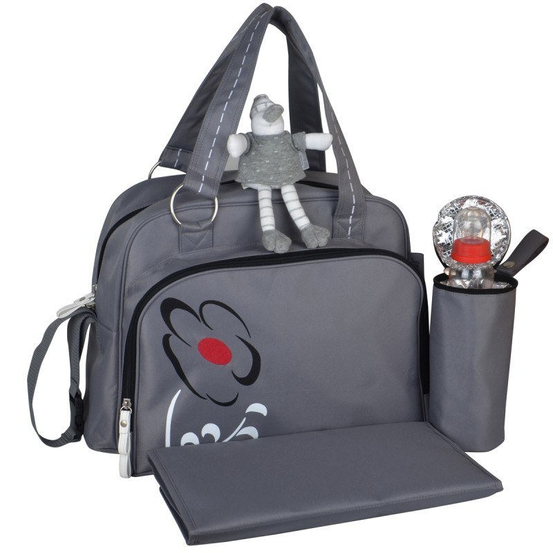 Baby on Board - Sac Simply Tokyo - Taupe/Rouge
