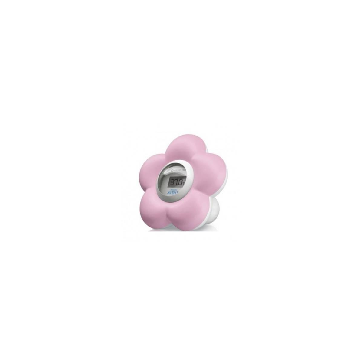 Philips Avent - Thermomètre Numérique Bain + Chambre - Rose