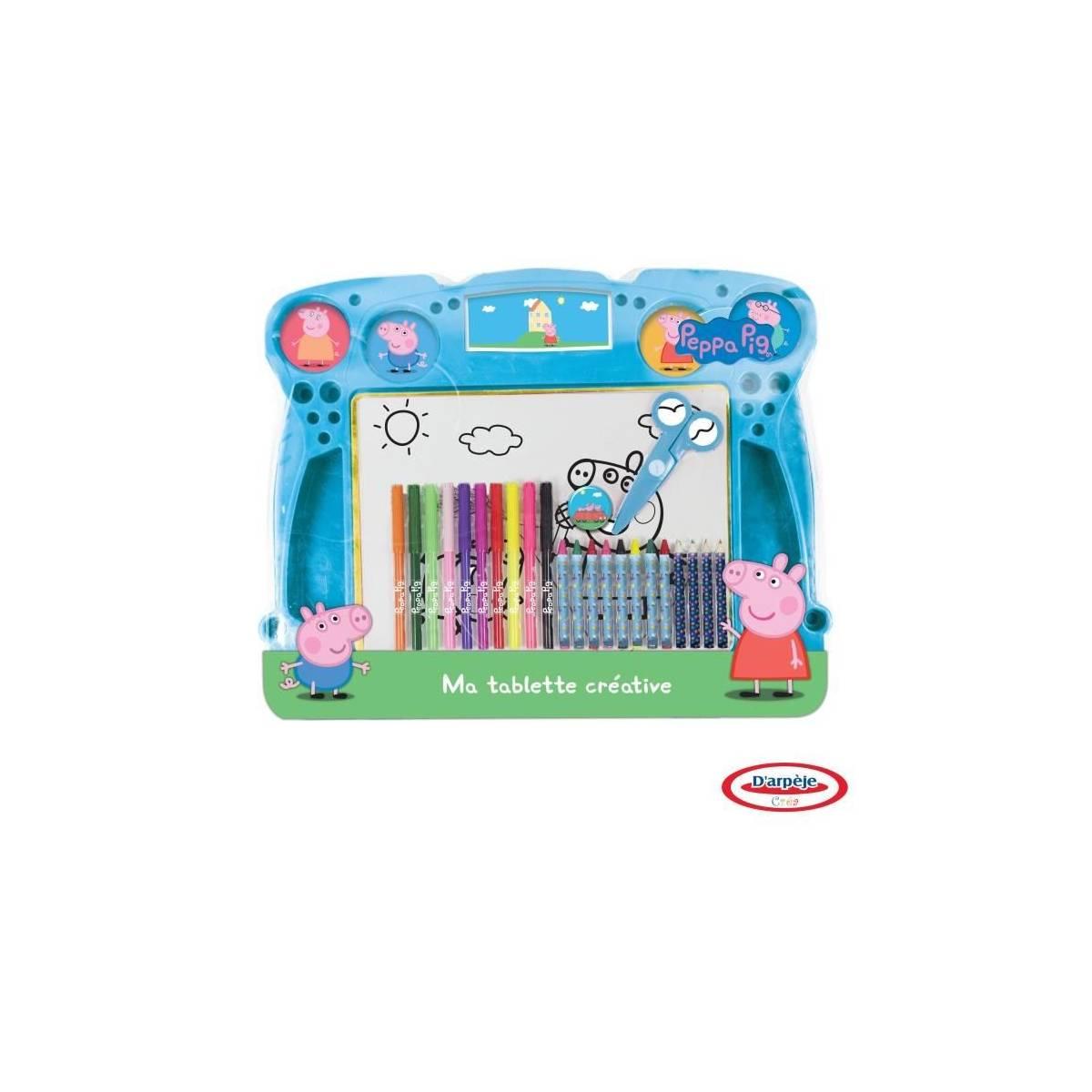 Peppa Pig - Ma Tablette Créative - + de 35 Pièces