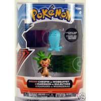 Tomy - Figurines Pokémon - Marisson vs Qulbutoke