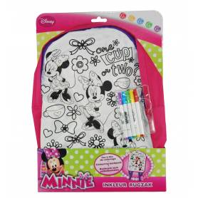 Disney - Sac à dos à colorier Minnie