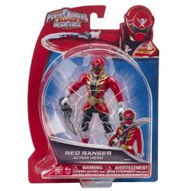 Power Rangers - 38201 - Figurine Super Megaforce Rouge 12 cm