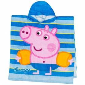 "Peppa Pig Poncho Cape de bain ""en maillot de bain"""