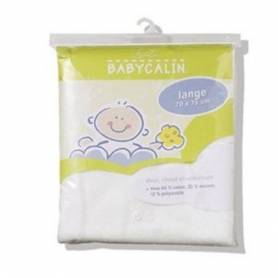 Babycalin Couche Lavable - Lot de 3 Langes blanc 70 x 75 cm