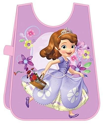 Princesse sofia tablier de peinture enfant violet disney - Peinture princesse disney ...
