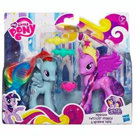 My Little Pony - Figurines - Princess Twilight et Rainbow Dash