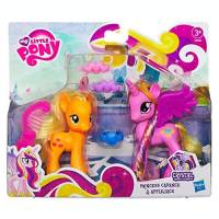 My Little Pony - Figurines - Princess Cadance et Applejack