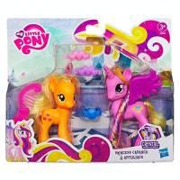 My Little Pony - Figurines - Princess Cadance et Applejack