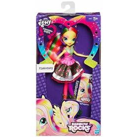 My Little Pony Equestria Girls Rock - Poupée 23 cm - Fluttershy