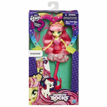 My Little Pony Equestria Girls - Poupée 23 cm - Roseluck