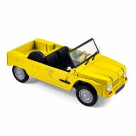 Norev Retro - Mini Voiture de Collection - Citroen Méhari Jaune