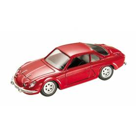 Mondo Motors Vintage - Véhicule Miniature - Renault Alpine A110 Rouge