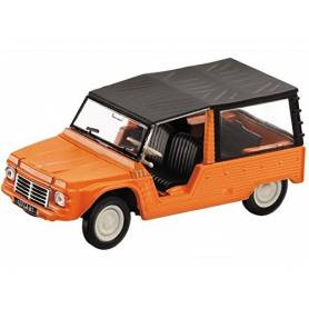 Mondo Motors Vintage - Véhicule Miniature - Citroen Mehari Orange