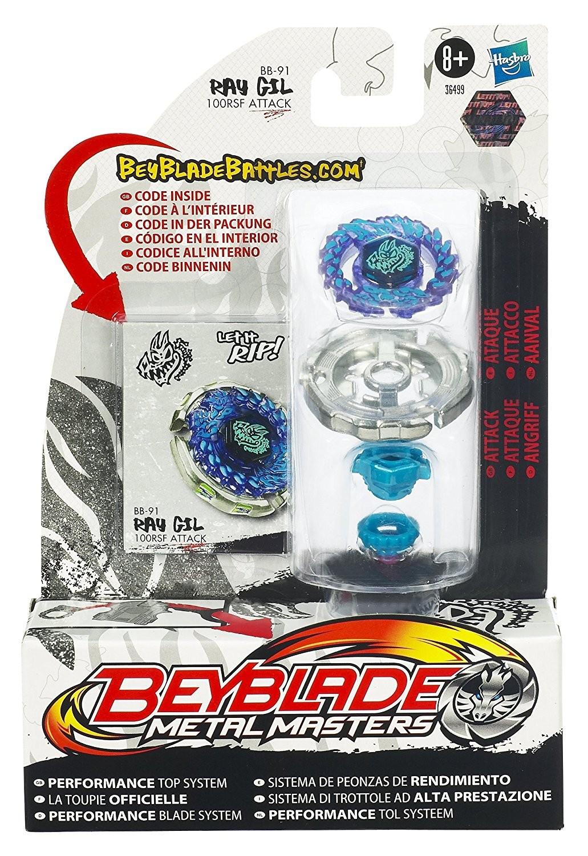 Beyblade Metal Masters Toupie de bat Ray Gil BB 91
