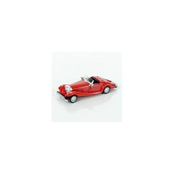 Norev Retro - Mini Voiture de Collection - Mercedes Benz 500k Rouge