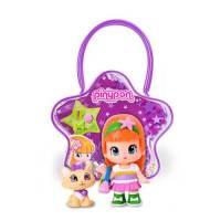 Famosa Pinypon - Sac Violet et Figurine + Chat