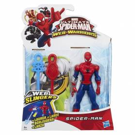 Ultimate Spider-Man Web Slinger - Figurine Spider-Man - 12 cm