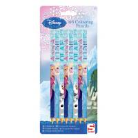 Frozen design: 8 colouring pencils Elsa Anna and Olaf