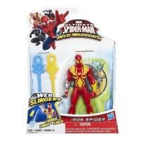 Marvel - Ultimate Spider-Man - Web Slingers - Iron Spider
