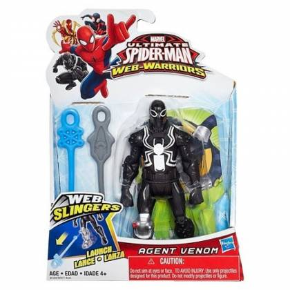 Marvel - Ultimate Spider-Man - Web Slingers - Agent Venom