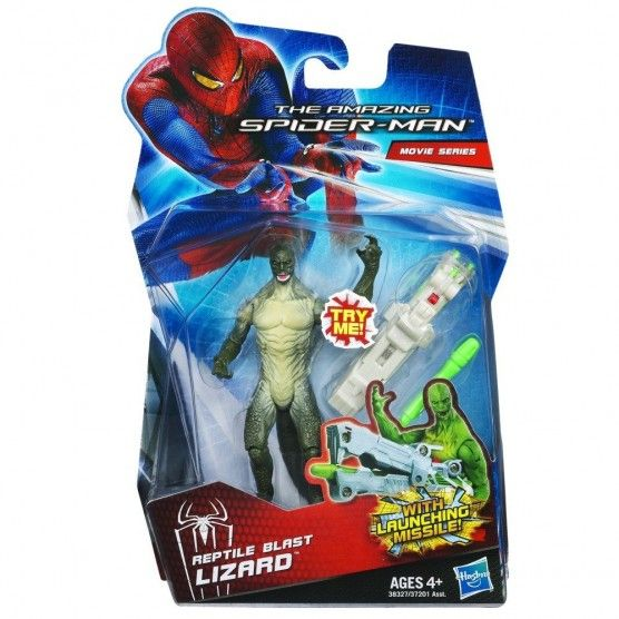 The Amazing Spider-Man - Figurine Lizard Lancement de Missiles - 10 cm