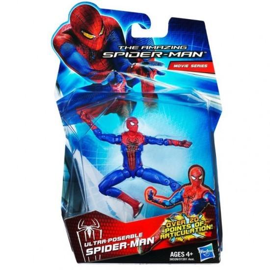 the amazing spider man spider man articul e figurine 10 cm. Black Bedroom Furniture Sets. Home Design Ideas