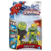 Ultimate Spider-Man - Power Webs - Iron Fist - Dragon Disc